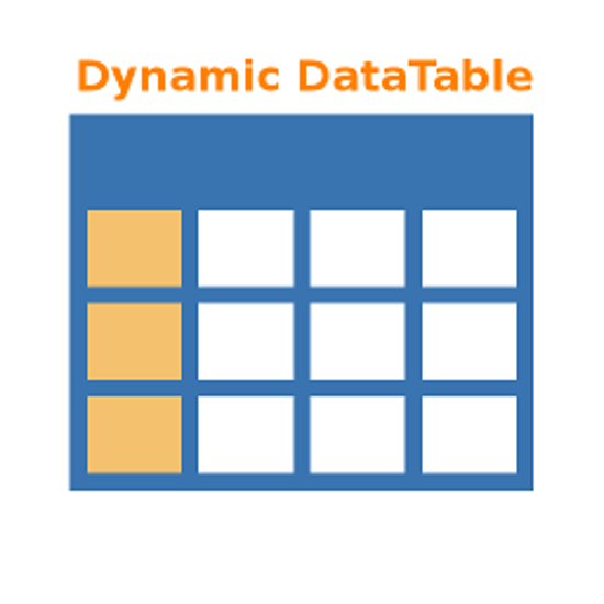 Picture of Dynamic Data table